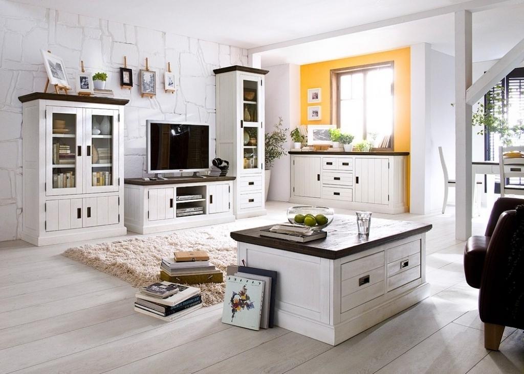 Wohnzimmer Design Landhaus Großartig On Innerhalb Deko Landhausstil Modernes And 8