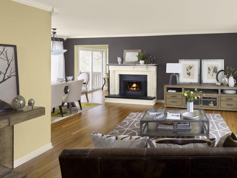 Wohnzimmer Design Wandfarbe Einzigartig On Für Uncategorized Kühles Petrol Braun Und 9