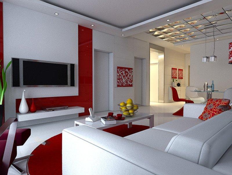 Wohnzimmer Design Wandfarbe Modern On Mit Amocasio Com 3