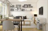 Wohnzimmer Esszimmer Holz Und Weiß Gestalten