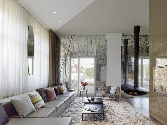 Wohnzimmer Grau Braun Einzigartig On Mit Wonderful Ideen Terrasse A Graubraun Shaggy 3