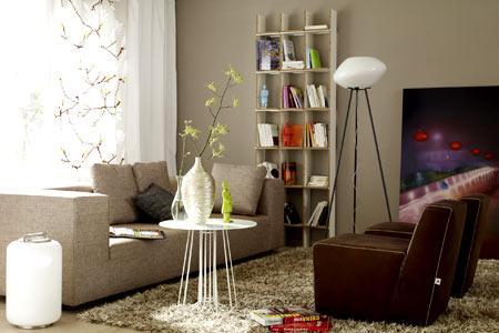 Wohnzimmer Grau Braun Schön On Mit Einrichten Farbe In Hellem Bild 4 9