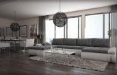 Wohnzimmer Grau Weiß