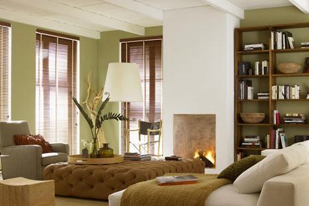 Wohnzimmer Grün Grau Braun Nett On überall Wände In Sanftem Im Bild 8 LIVING AT HOME 1