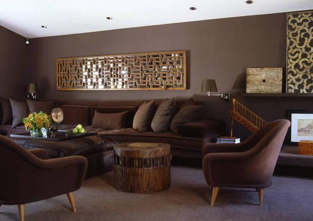 Wohnzimmer Ideen Braun Fein On In Bezug Auf Beeindruckend Für Verzögert 4