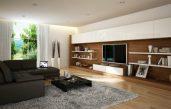 Wohnzimmer Ideen Braun Töne