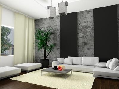Wohnzimmer Ideen Grau Ausgezeichnet On In Bezug Auf Wandgestaltung Streifen 5