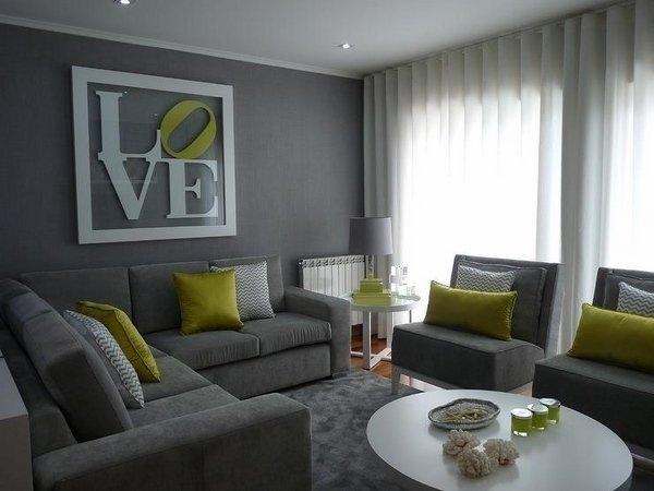 Wohnzimmer Ideen Grau Unglaublich On Auf Liebenswert Idee 9