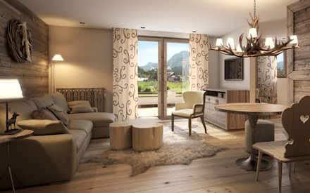 Wohnzimmer Ideen Landhausstil Modern Wunderbar On Innerhalb Einrichtung Und Bilder Homify 9