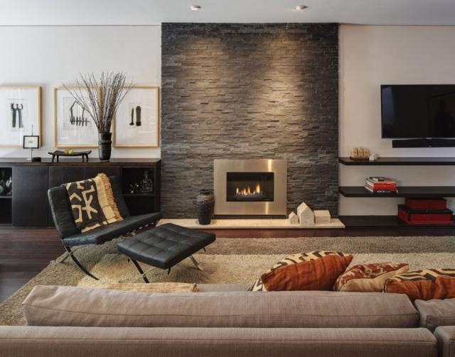 Wohnzimmer Ideen Mit Kamin Einzigartig On Beabsichtigt 65 Für Einen Ort Der Ruhe 8