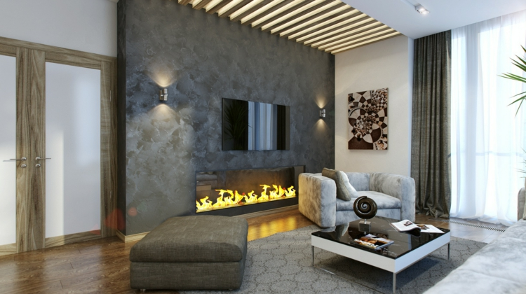 Wohnzimmer Ideen Mit Kamin Einzigartig On Und Awesome Contemporary House Design 1