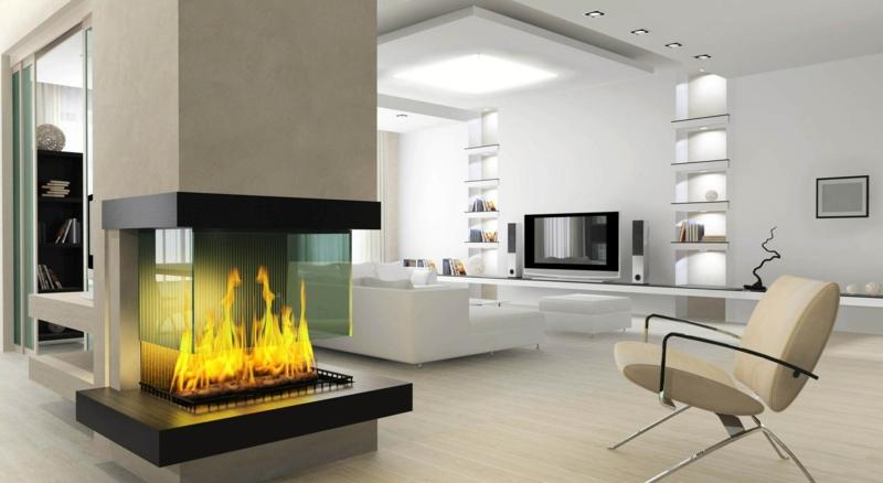 Wohnzimmer Ideen Mit Kamin Fein On In 65 Für Einen Ort Der Ruhe 4