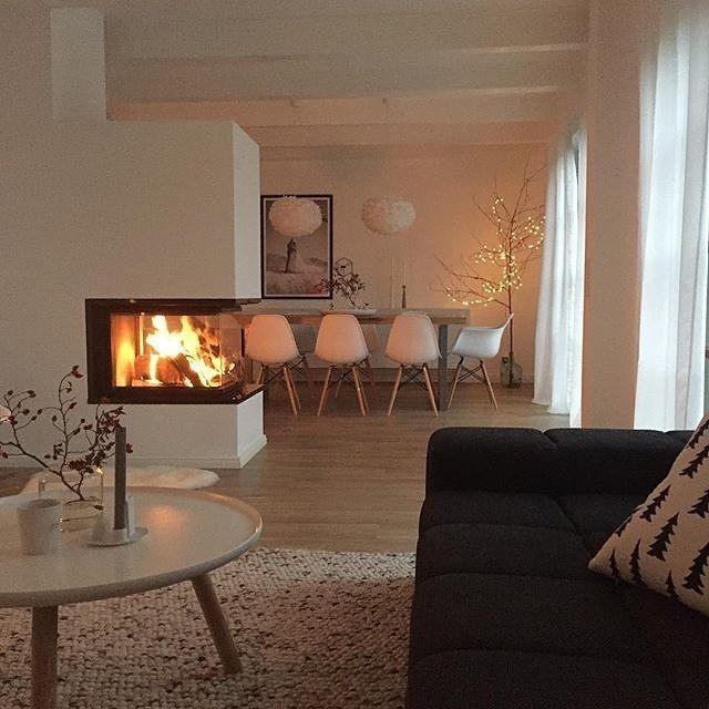 Wohnzimmer Ideen Mit Kamin Herrlich On Auf Die Besten 25 Kaminofen Pinterest Ofen 2