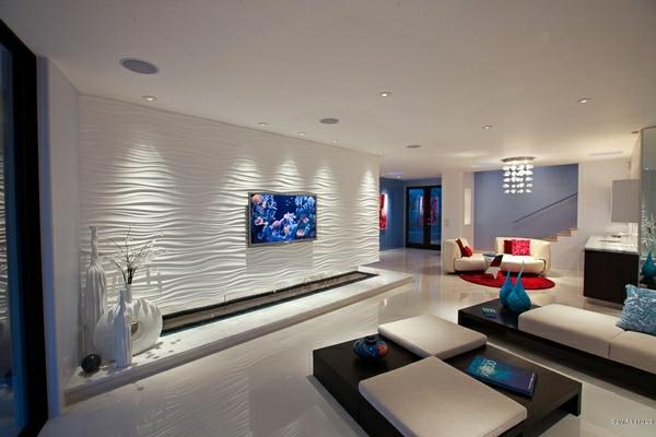 Wohnzimmer Ideen Modern Interessant On In Modernes Stilvoll Mit Wohnideen 3