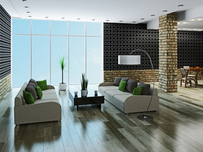 Wohnzimmer Ideen Modern Interessant On überall Hypnotisierend 2