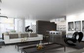 Wohnzimmer Ideen Schwarz Weiss Grau