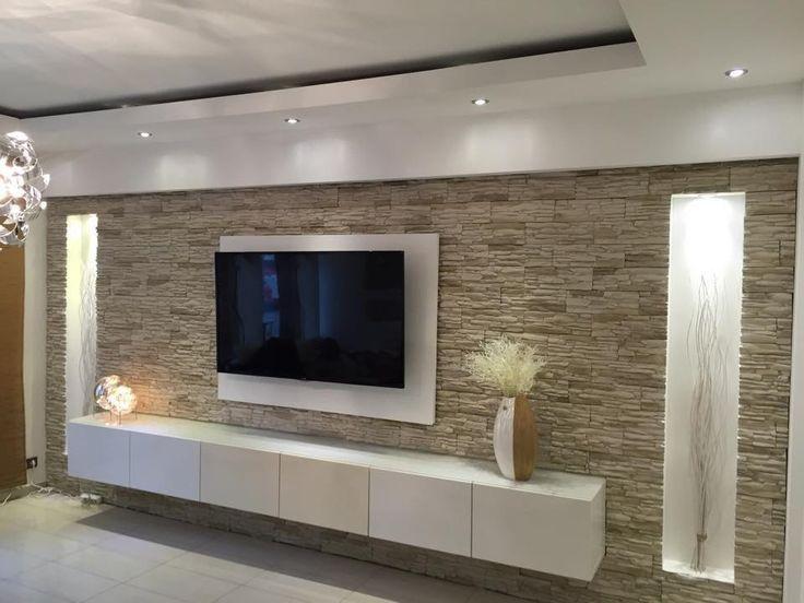 Wohnzimmer Ideen Wand Perfekt On überall Glänzend Wohnzimmerwand Gestalten Die Besten 25 7