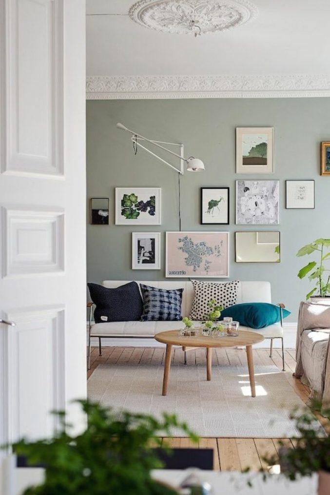 Wohnzimmer Ideen Wandgestaltung Regal Einzigartig On Auf ...