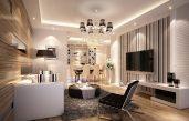 Wohnzimmer Ideen Wandgestaltung Streifen