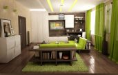 Wohnzimmer Ideen Weiß Grün Braun