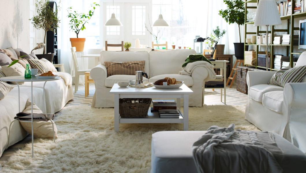 Wohnzimmer Ikea Großartig On In Bezug Auf Weiß Inspiration Ideen IKEA 3