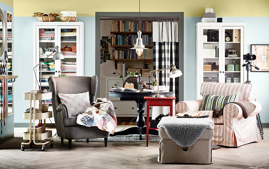 Wohnzimmer Ikea Interessant On Innerhalb Gemütlich Einrichten Ideen IKEA 7
