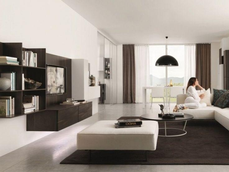 Wohnzimmer In Braun Und Weiss Erstaunlich On überall Mode Weiß Klassik 12 3
