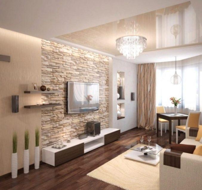 Wohnzimmer In Braun Und Weiss Kreativ On Wandgestaltung Weis Full Size Of 9