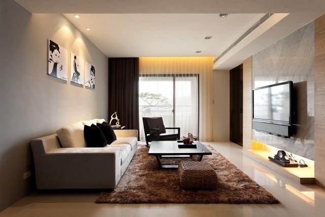Wohnzimmer In Braun Und Weiss Stilvoll On Beabsichtigt Befriedigender Weiß Ideen Brauntöne Sind Modern 7 4