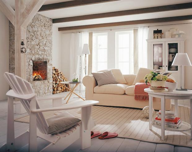 Wohnzimmer Landhausstil Gestalten Weiß Bescheiden On In Im Wei 5