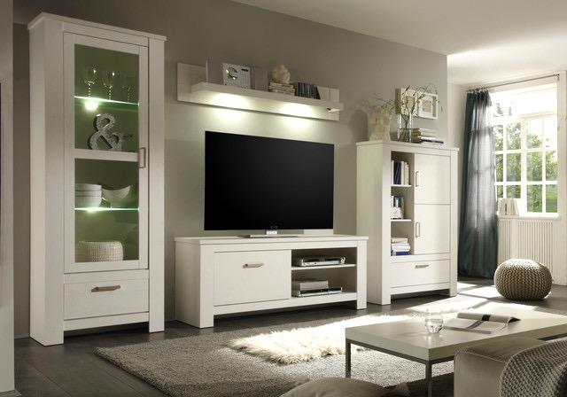 Wohnzimmer Landhausstil Gestalten Weiß Bescheiden On Mit 6