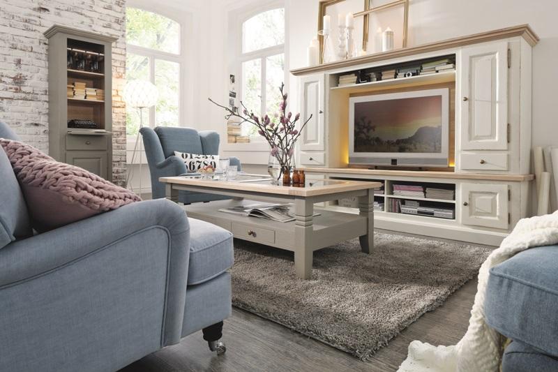Wohnzimmer Landhausstil Gestalten Weiß Exquisit On Auf Interessant Landhaus Landhausmöbel DANSK Design 2