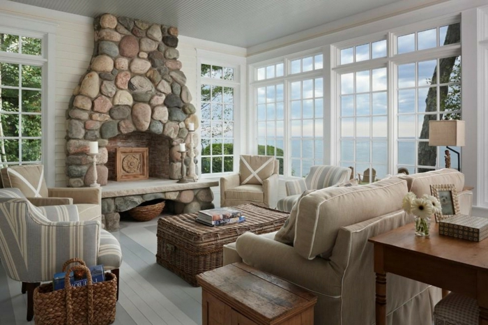 Wohnzimmer Landhausstil Modern Interessant On Innerhalb 63 Köstlich 2