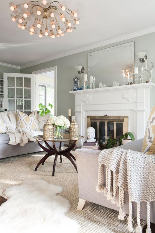 Wohnzimmer Landhausstil Modern Interessant On überall Landhaus Www Sieuthigoi Com 8