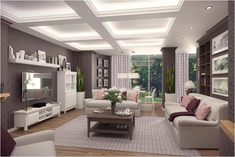 Wohnzimmer Landhausstil Modern Unglaublich On Auf Einrichten 9