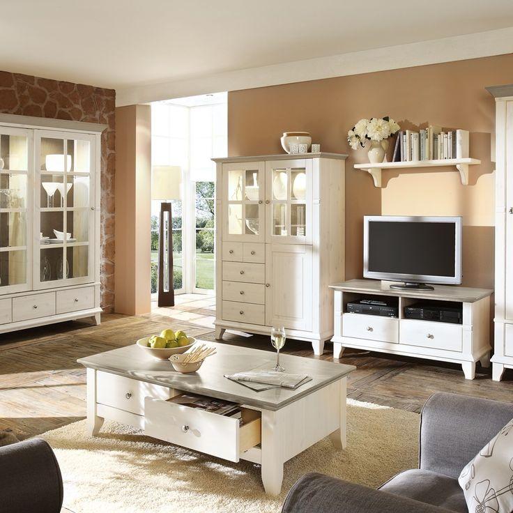 Wohnzimmer Landhausstil Nett On Auf Ideen Komfortabel Auch 6
