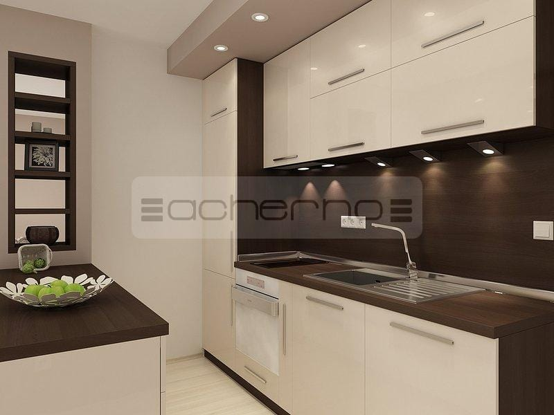 Wohnzimmer Mit Küche Braun Beige Exquisit On In Wohndesign 9