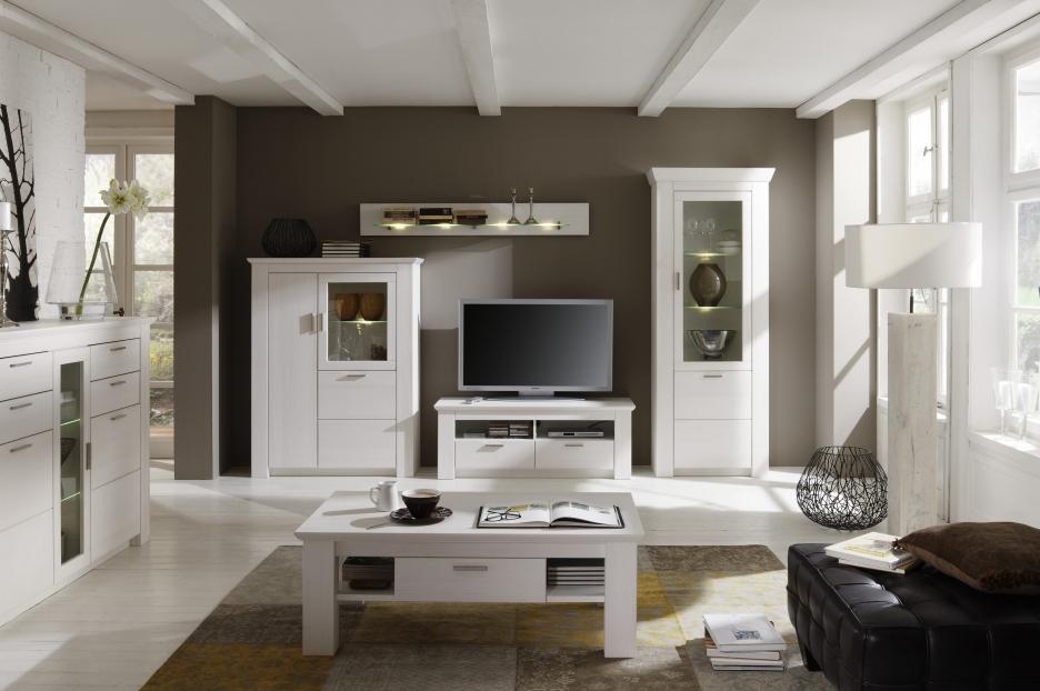 Wohnzimmer Modern Braun Bescheiden On Beabsichtigt Gelb Large Size Of Moderne Huser Mit Gemtlicher 4