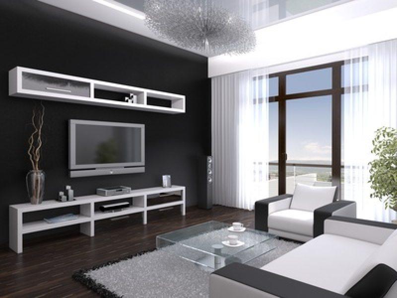 Wohnzimmer Modern Schwarz Weiß Perfekt On Für Weiss Www Sieuthigoi Com 2
