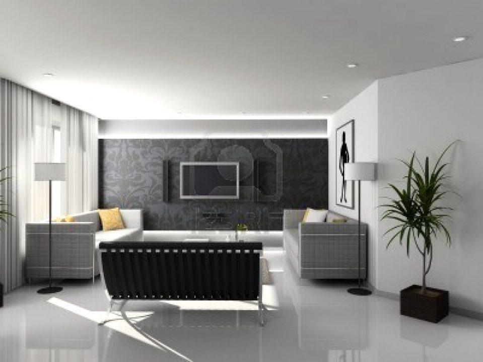 Wohnzimmer Modern Schwarz Weiß Perfekt On Innerhalb Uncategorized Weiss Uncategorizeds 6