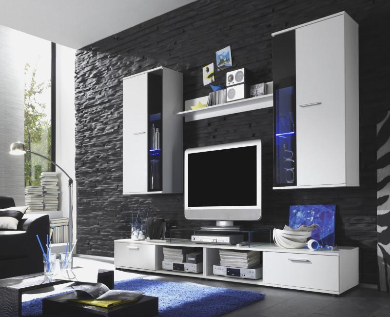 Wohnzimmer Modern Schwarz Weiß Schön On In Weis Grau Kazanlegend Info 5