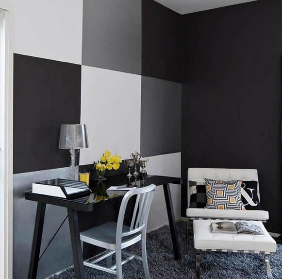 Wohnzimmer Modern Wand Streichen Großartig On In Bezug Auf Inspirierend Grau Weiss Dekoration Interieur Y 9