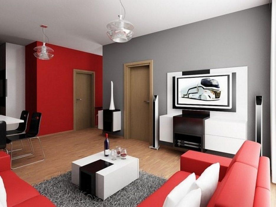 Wohnzimmer Rot Creme Perfekt On Für Awesome Mit Contemporary House Design Ideas 6