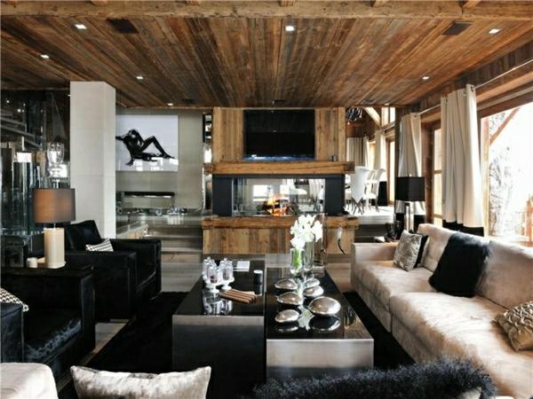 Wohnzimmer Rustikal Modern Einzigartig On Beabsichtigt Im Landhausstil Rustikale Einrichtung Ideen 5