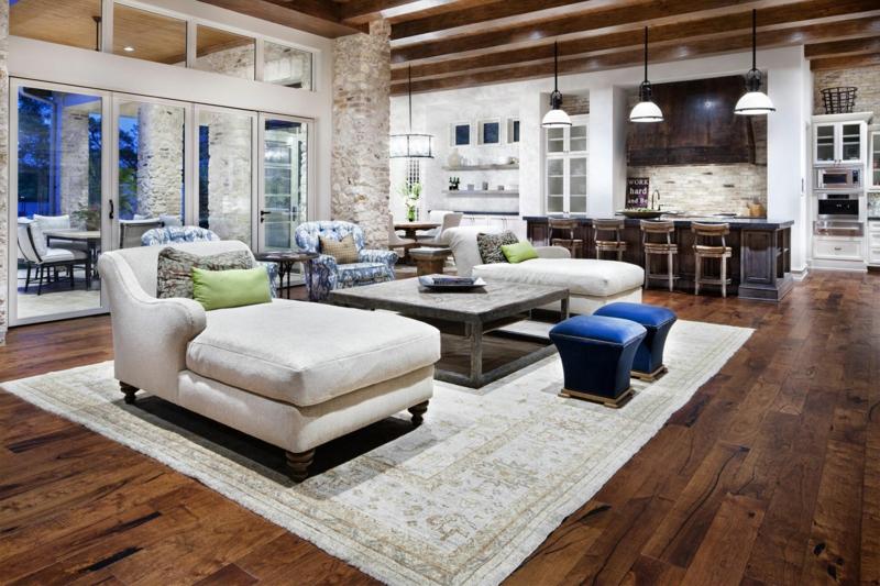 Wohnzimmer Rustikal Modern Schön On überall Neueste Im Landhausstil 2 1