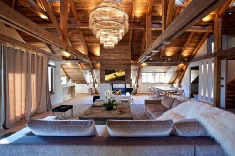 Wohnzimmer Rustikal Modern Unglaublich On Innerhalb Home Design Ideas 8