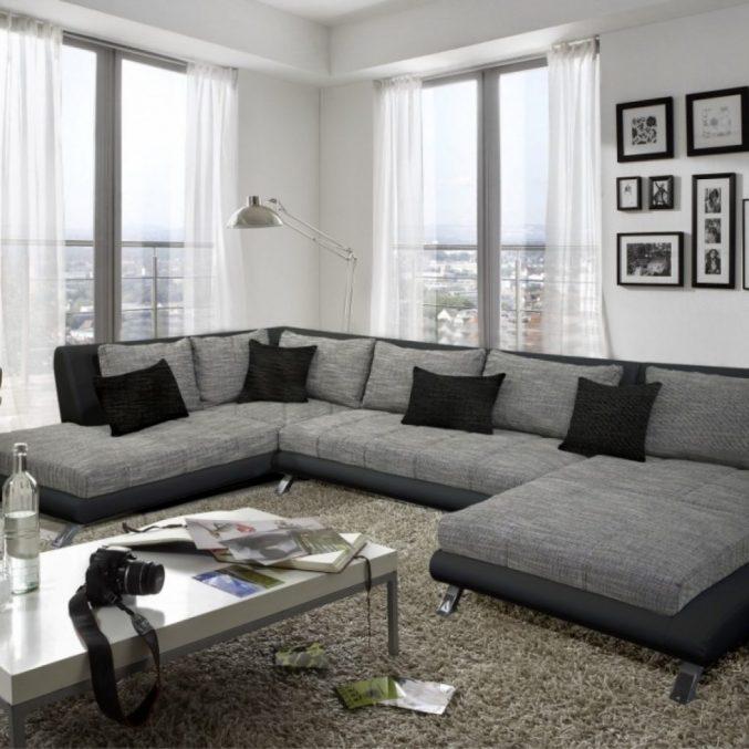 Wohnzimmer Schwarz Silber Beige Ausgezeichnet On Für Deko 4