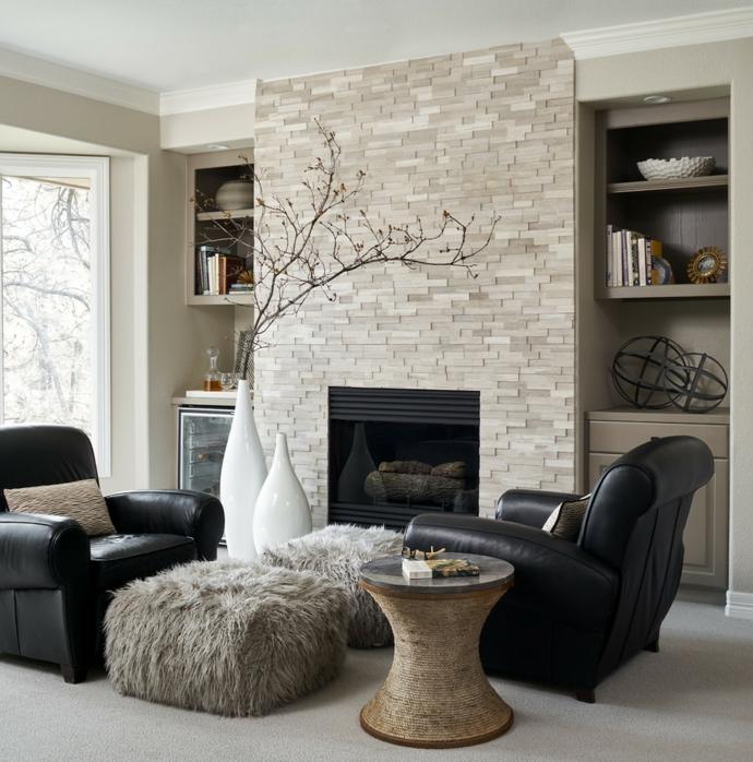 Wohnzimmer Schwarz Silber Beige Interessant On überall Stunning Contemporary House Design 2