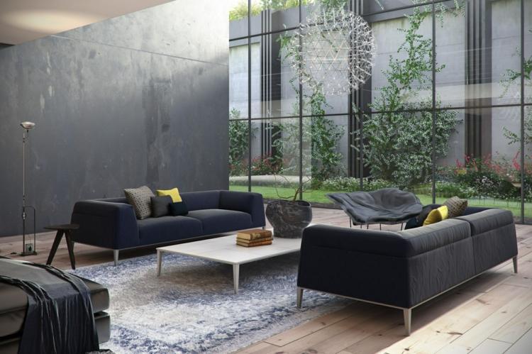 Wohnzimmer Sofa Großartig On Und Couch Mit Anderen Kombinieren 10 Ideen 5