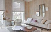 Wohnzimmer Tapeten Ideen Beige